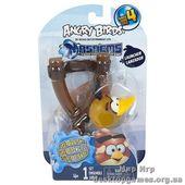 Набор Angry Birds S4 crystal - Рогатка с машемсом (птичка желтая)