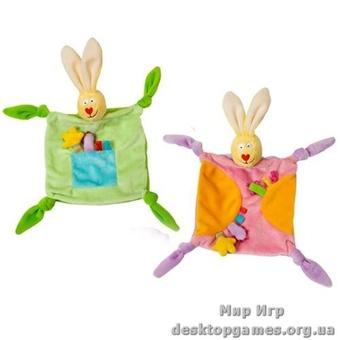 Развивающая игрушка-одеяльце – ЗАЙЧИК