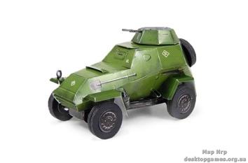 """Сборная игровая модель из картона """"Бронеавтомобиль-64б"""""""