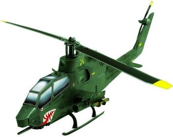 """Сборная игровая модель из картона """"Вертолет Cobra"""""""