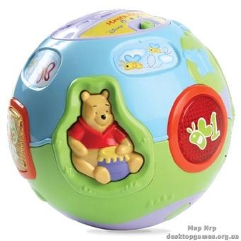 Игрушка развивающая - Мяч Винни (звук, русский язык)