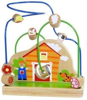 """Деревянная игрушка-лабиринт """"Ферма"""""""