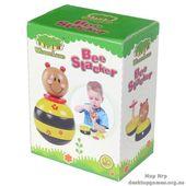 """Деревянная игрушка-пирамидка """"Пчелка"""""""