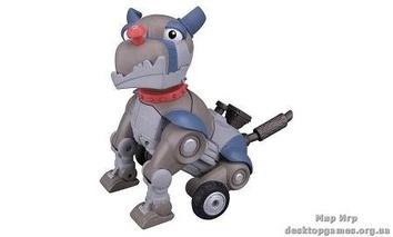 Мини-робот пес Рекс.