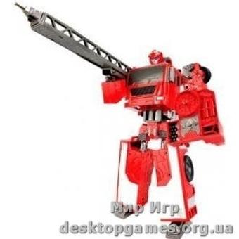 Робот-трансформер X-BOT - Пожарная машина