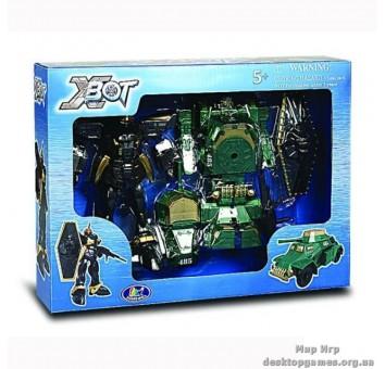 Игровой набор - Робот-Трансформер (15 см), танк (зеленый), воин