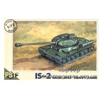 PST72002 IS-2 WWII Soviet heavy tank, 1943