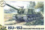 PST72004 ISU-152 WWII Soviet self-propelled gun