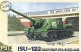 PST72005 ISU-122 WWII Soviet self-propelled gun