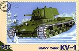 PST72012 KV-1 WWII Soviet heavy tank
