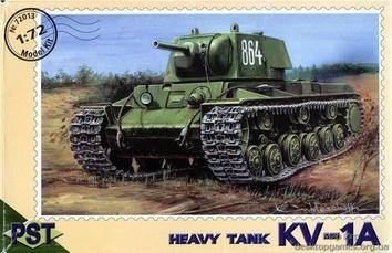 PST72013 KV-1A WWII Soviet heavy tank