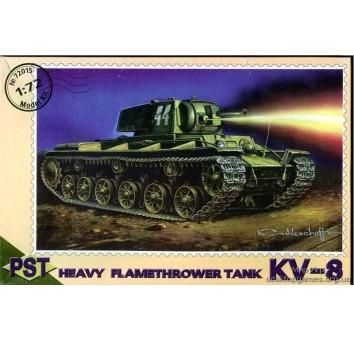 PST72015 KV-8 WWII Soviet flame-thrower tank