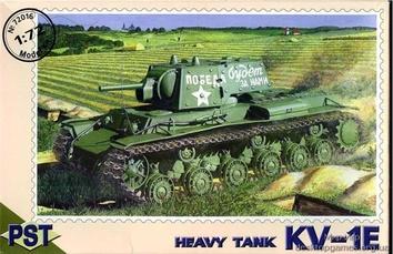 PST72016 KV-1E WWII Soviet heavy tank