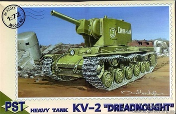 PST72017 KV-2  Dreadnought  WWII Soviet tank