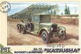 PST72018 M-13  Katjusha  WWII Soviet launcher