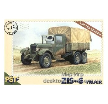 PST72019 ZIS-6 WWII Soviet truck