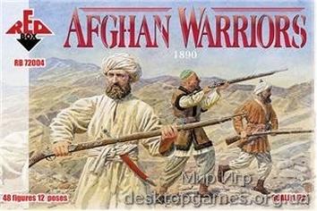 Afghan Warriors, 1890