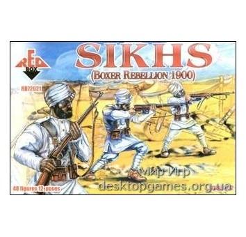 Sikhs, Boxer Rebellion 1900