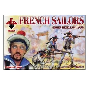 French Sailors, Boxer Rebellion 1900