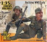 RM3554 Charge, up forward!' WWII Red Army, 2 fig