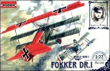 RN010 Fokker Dr.I