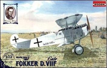 RN031 Fokker D.VII F (late)