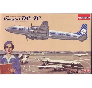 Модель самолета Douglas DC-7C KLM