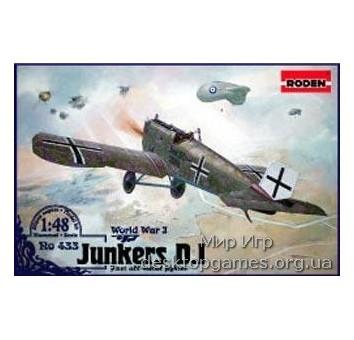 RN433 Junkers D.I (early, long fuselage)