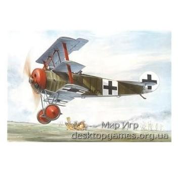 RN601 Fokker Dr.I WWI German fighter