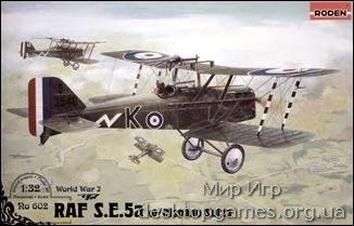 RN602 RAF S.E.5a (w/Hispano Suiza)