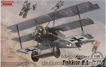 RN605 Fokker F.I WWI German fighter