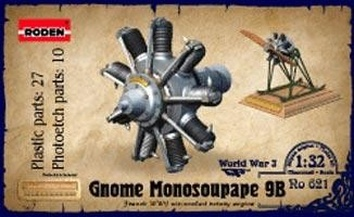 RN621 Gnome Monosoupape, engine