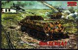 Модель полугусеничного  тягача Sd.Kfz. 4/11 Panzerwerfer 42