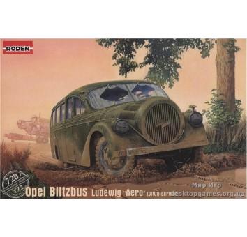 "Немецкий автобус Opel Blitzbus Ludewig ""Aero"""