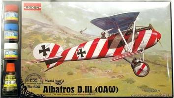 RNset608 Albatros D.III (OAW) (самолет)