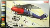 RNset613 Pfalz D.III WWI German fighter (самолет)