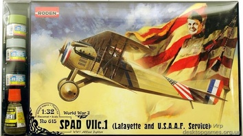 RNset615 SPAD VII c.1 «Lafayette and USAAS« fighter (самолет)