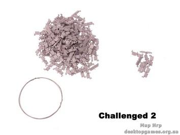 Металлические траки Challenger 2 (для сборки)