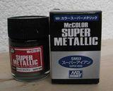 Супер-металлик железо, краска MR. Color Super Metallic