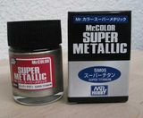 Супер-металлик титан, краска MR. Color Super Metallic