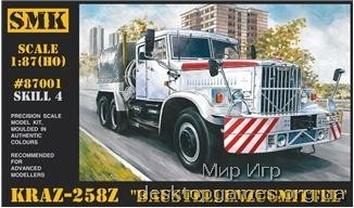 SMK87001 KrAZ-258Z  Baustellenzugmittel  Soviet truck