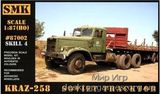 SMK87002 KrAZ-258 Soviet tractor
