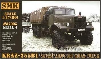 Советский внедорожный грузовик КрАЗ-255B1