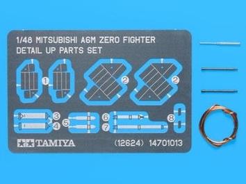 Фототравленные детали для A6M Zero
