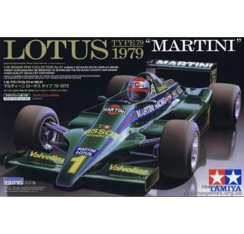 Болид формулы 1 Lotus Type 79 Martini