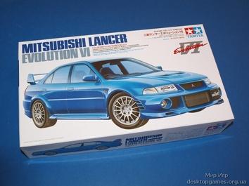 Автомобиль Mitsubishi Lancer Evolution VI