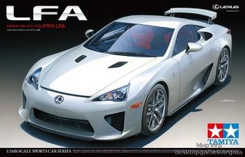 Модель автомобиля Lexus LFA в масштабе