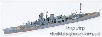 Японский легкий крейсер Yahagi