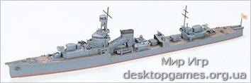 Японский легкий крейсер Yubari