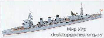 Японский легкий крейсер Kinu